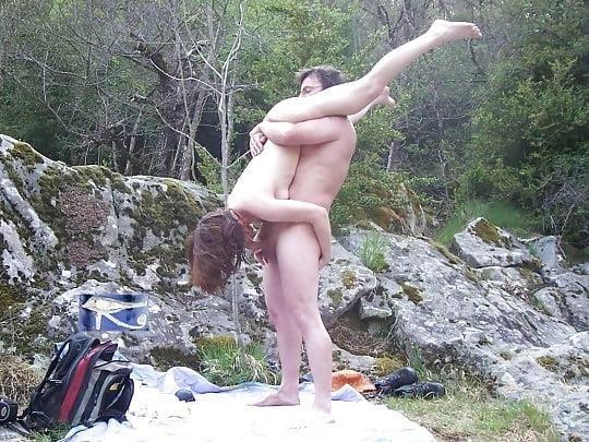 Nude beach sex in public-8087