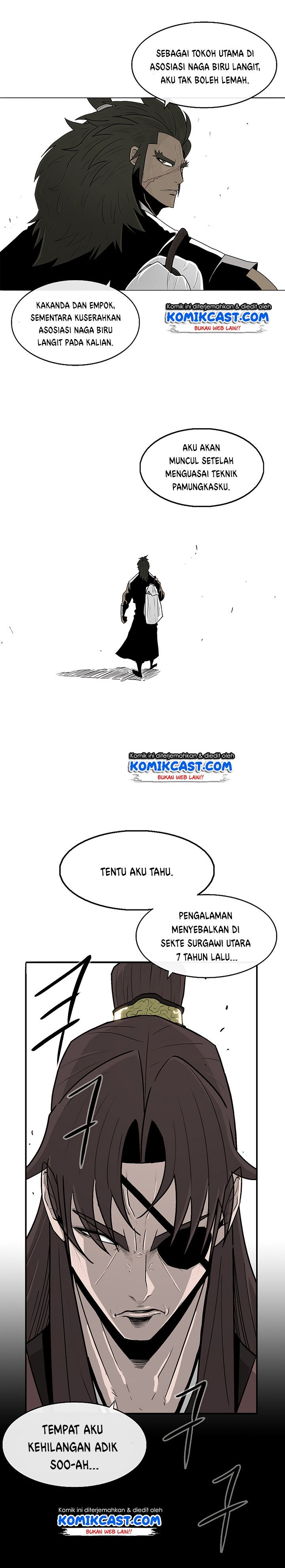 Legend of the Northern Blade Chapter 57 Bahasa Indonesia