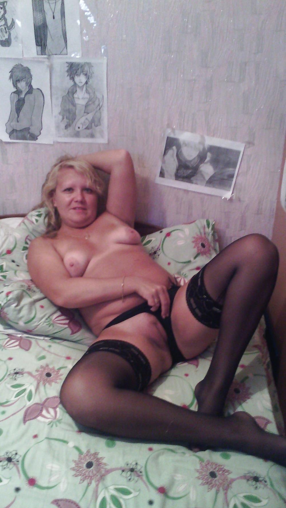 Wife naked stockings-3682