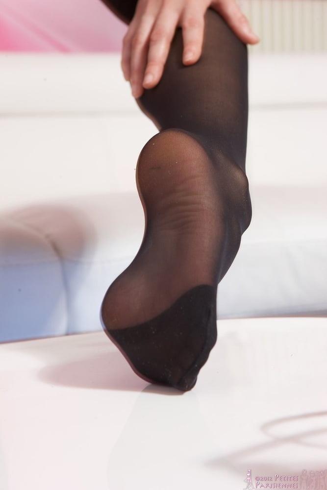 Nylon feet porn hd-5858