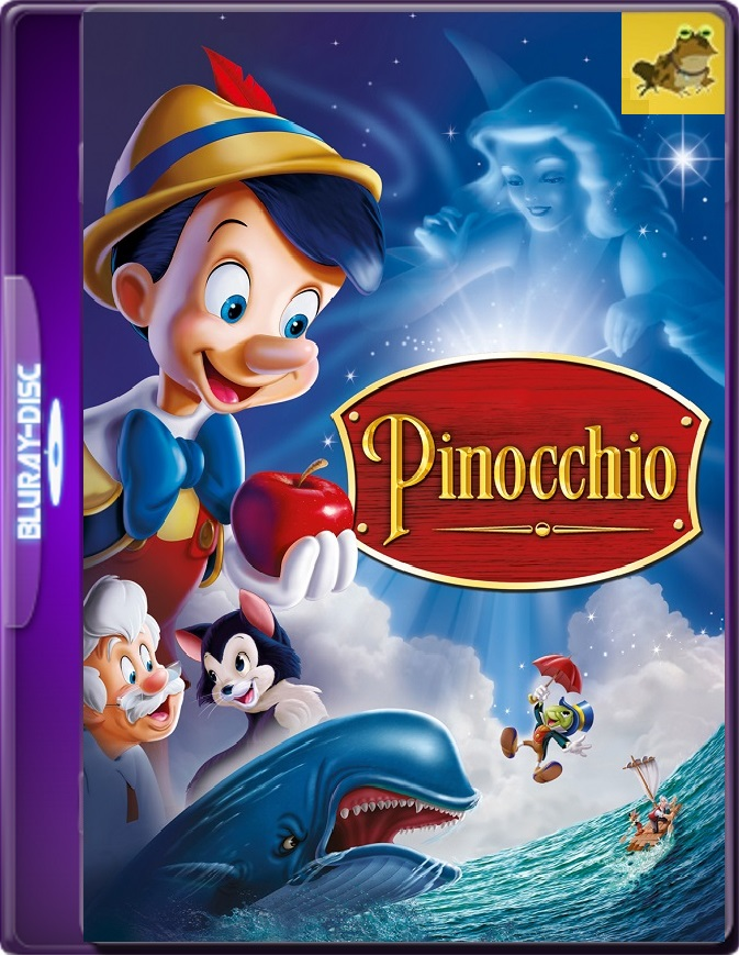 Pinocho (1940) Brrip 1080p (60 FPS) Latino