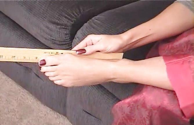Janet mason nylon footjob-4435