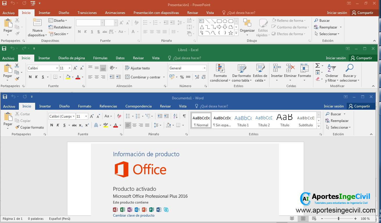 fSvezMkm_o - Office Professional Plus 2016 [x64] [Español][UL-FJ-NF] - Descargas en general