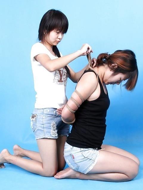 Shibari style bondage-1413