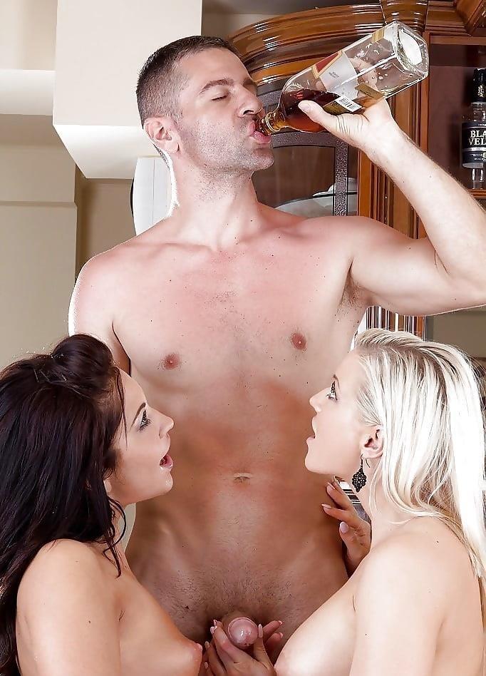 Threesome blowjob pics-9890