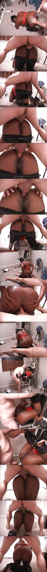 Ebony bbw anal masturbation-5718