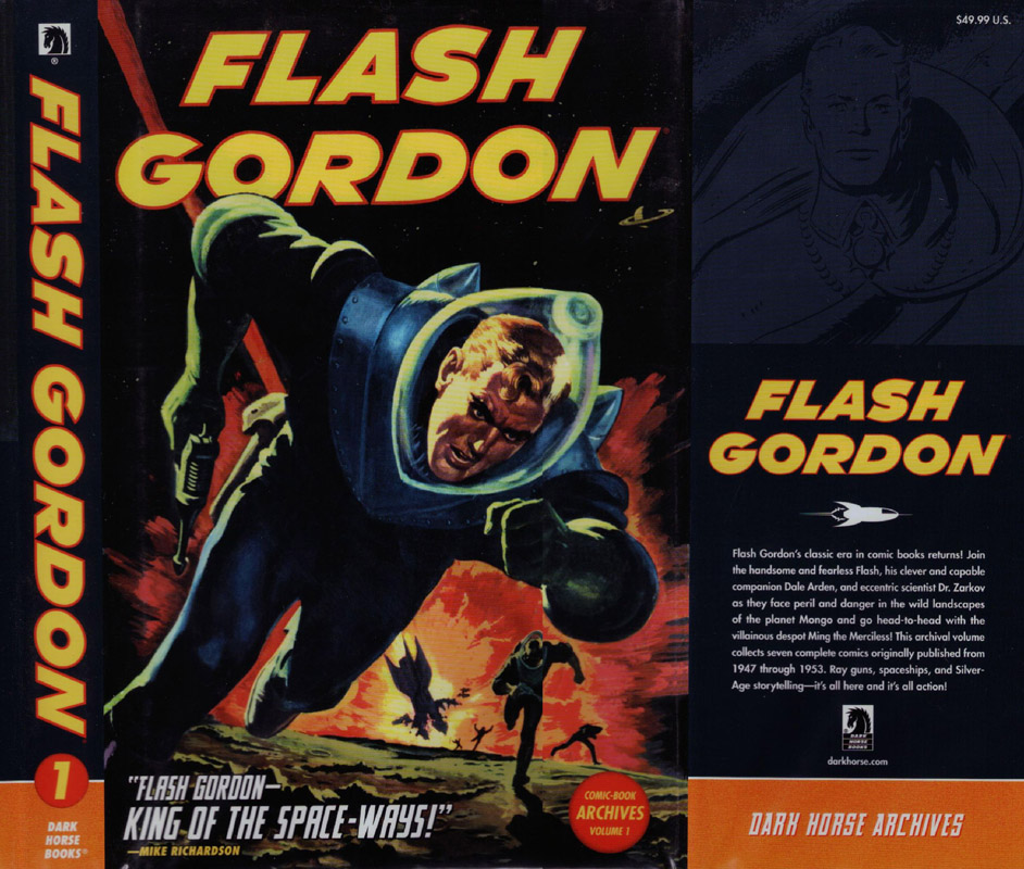 Flash Gordon Comic Archives v01 (2010)