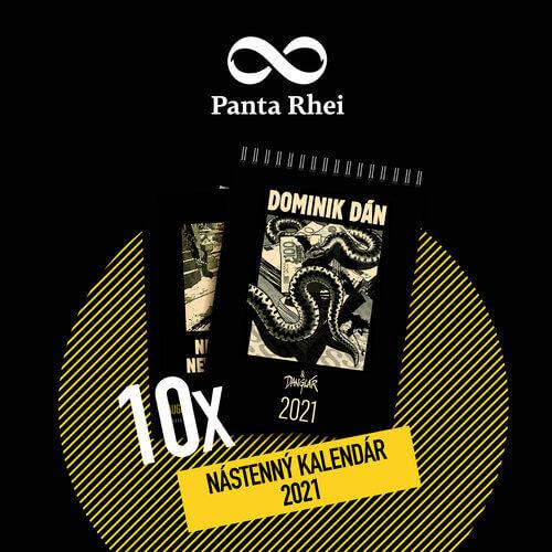limitovaný nástenný kalendár Dominik Dán & Danglár