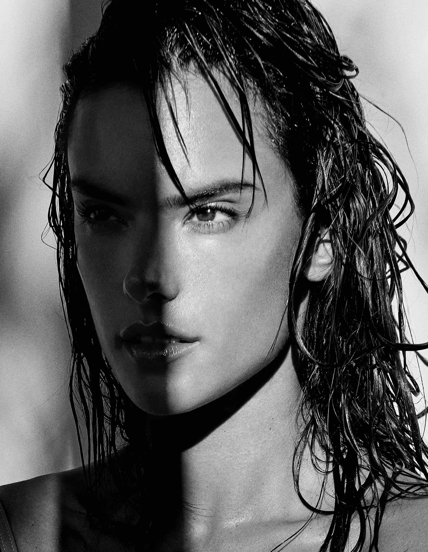 Alessandra Ambrosio by Yu Tsai for Narcisse Magazine Nude issue number 6, 2017