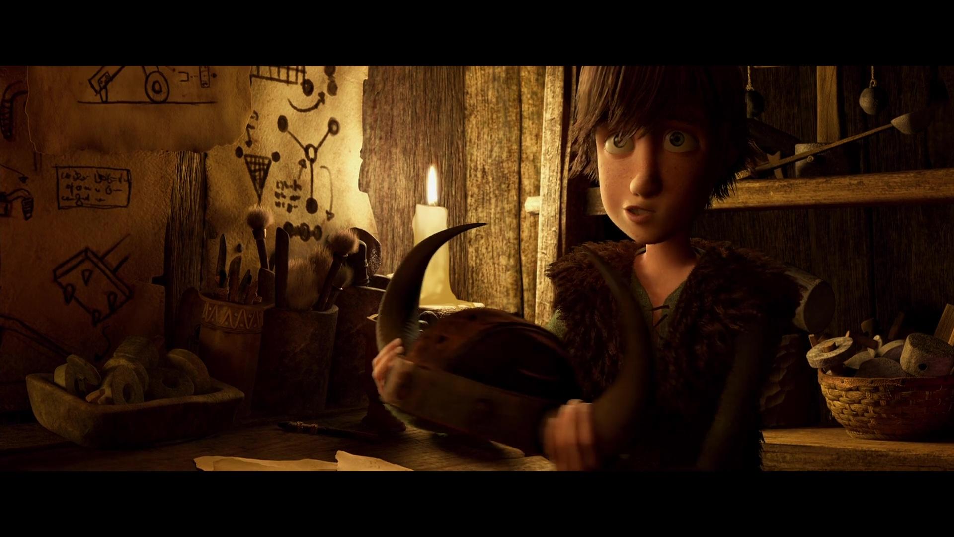 Como Entrenar A Tu Dragon 1080p Lat-Cast-Ing[Animacion](2010)