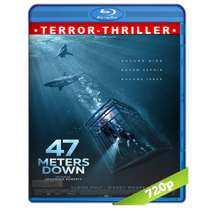 Terror A 47 Metros HD720p Audio Trial Latino-Castellano-Ingles 5.1 (2017)