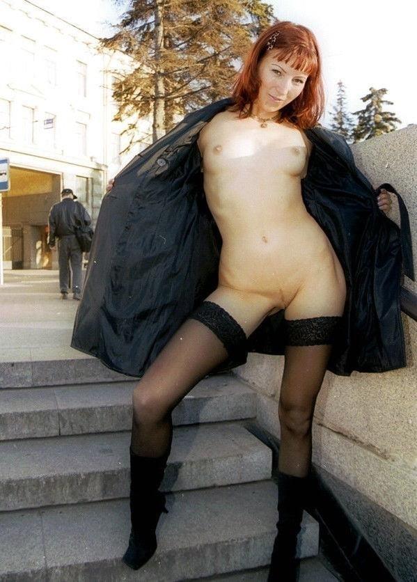 Nipple flash in public-7973