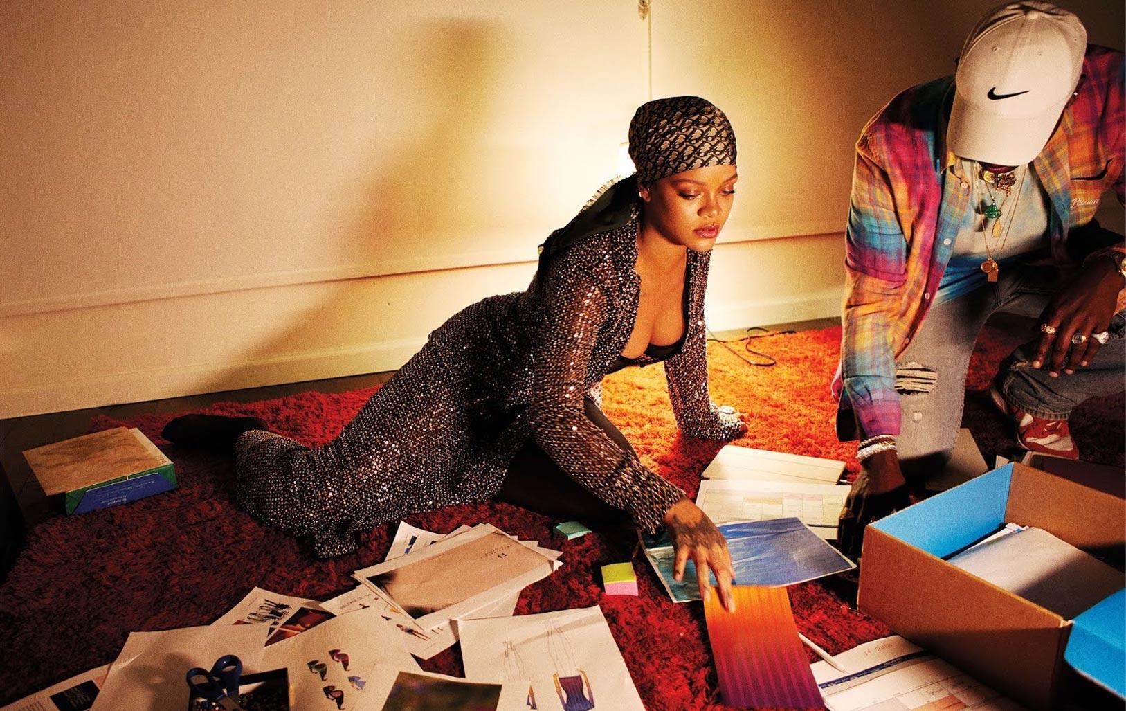 Рианна в журнале Harpers Bazaar, сентябрь 2020 / фото 01