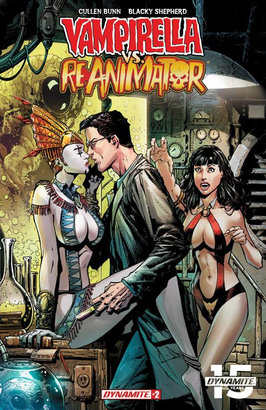 Vampirella vs Reanimator #1-2 (2018-2019)