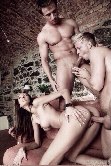 First time bi mmf threesome-1098