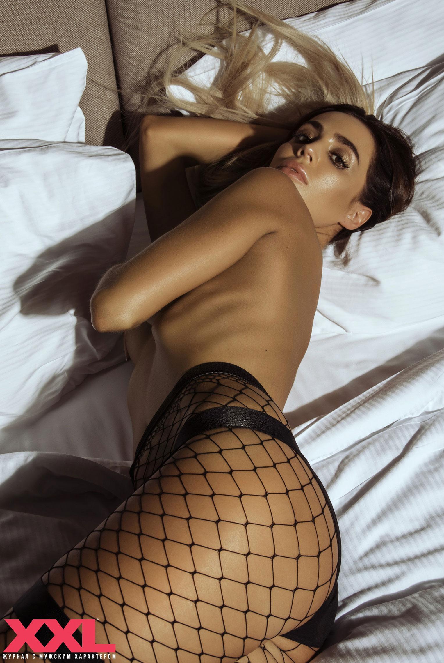Актриса, модель и телеведущая Эмма Ди голая в мужском журнале XXL / фото 07