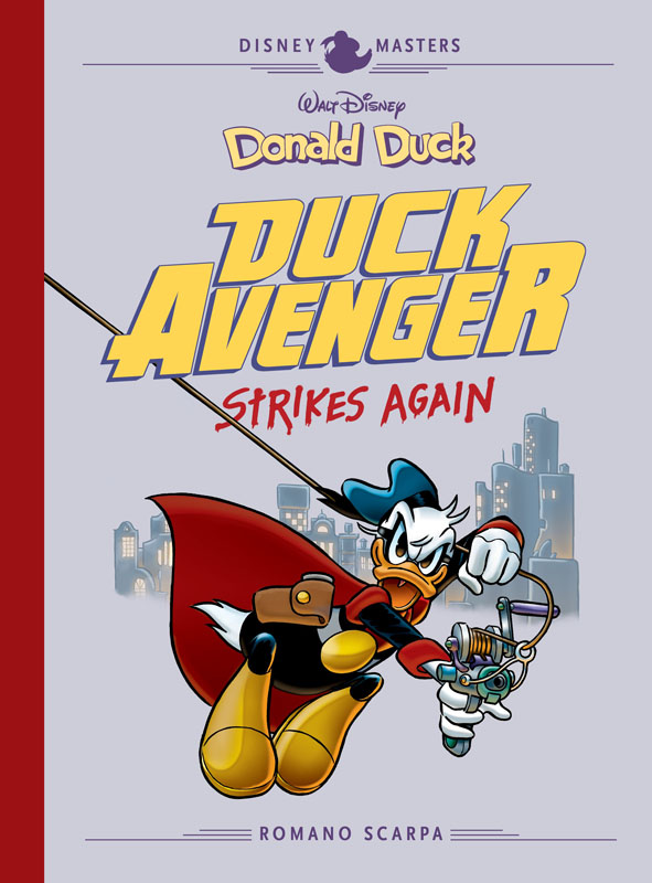 Disney Masters v08 - Donald Duck - Duck Avenger Strikes Again (2019)