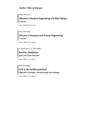 Design of Experiments in Chemical Engineering A Practical Gu