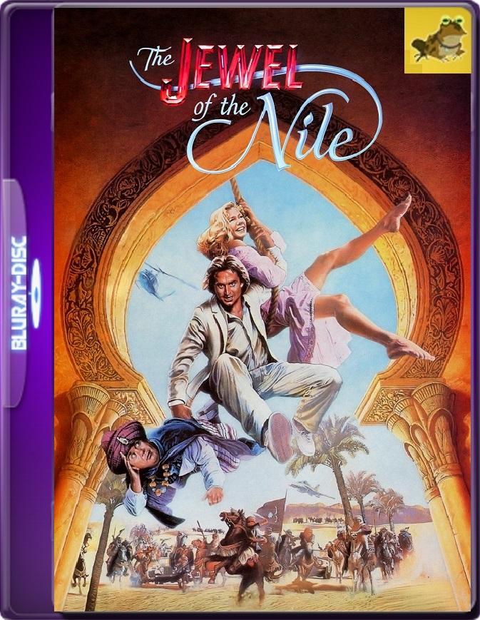La Joya Del Nilo (1985) Brrip 1080p (60 FPS) Latino / Inglés