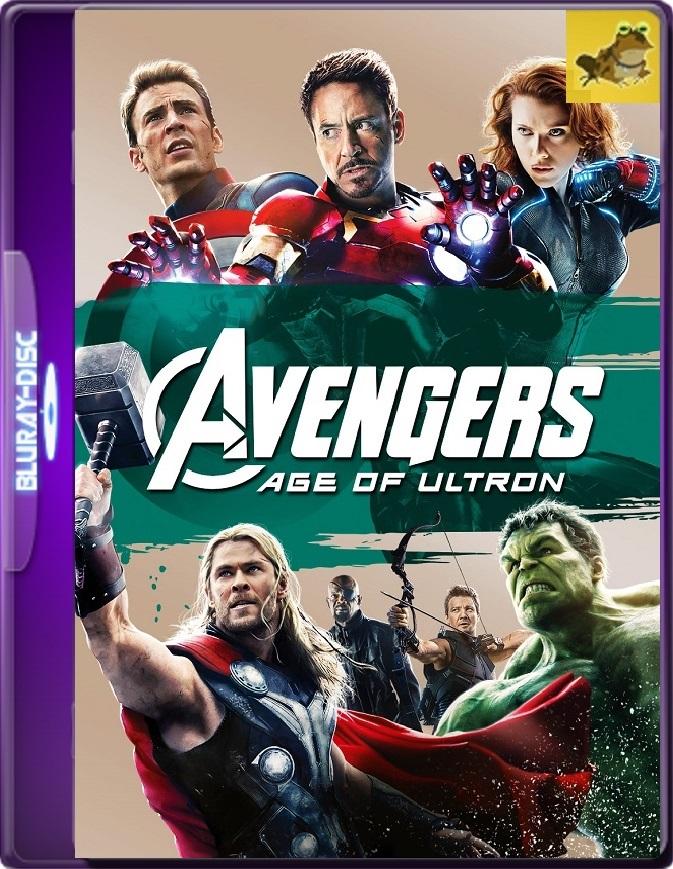 Los Vengadores: La Era De Ultrón (2015) Brrip 1080p (60 FPS) Latino / Inglés