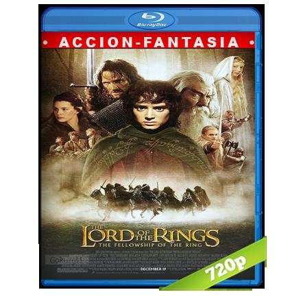 descargar El Señor De Los Anillos 1 720p Lat-Cast-Ing[Fantasia](2001) gratis