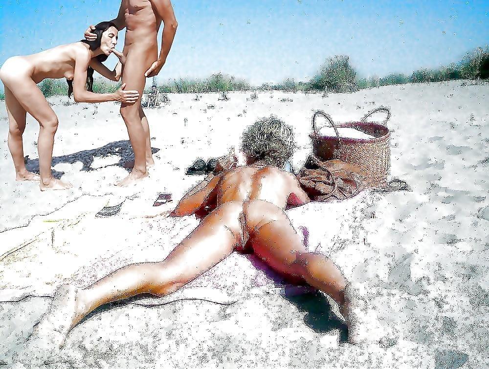 Asian beach orgy-1405