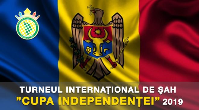 """TURNEUL INTERNAŢIONAL DE ŞAH """"CUPA INDEPENDENŢEI"""" 2019"""