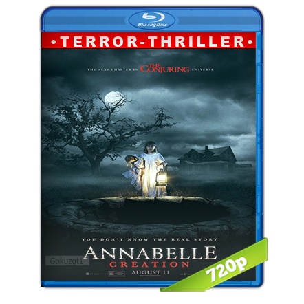 Annabelle 2 La Creacion (2017) BRRip 720p Audio Trial Latino-Castellano-Ingles 5.1