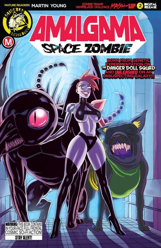 Amalgama - Space Zombie #1-3 (2019)