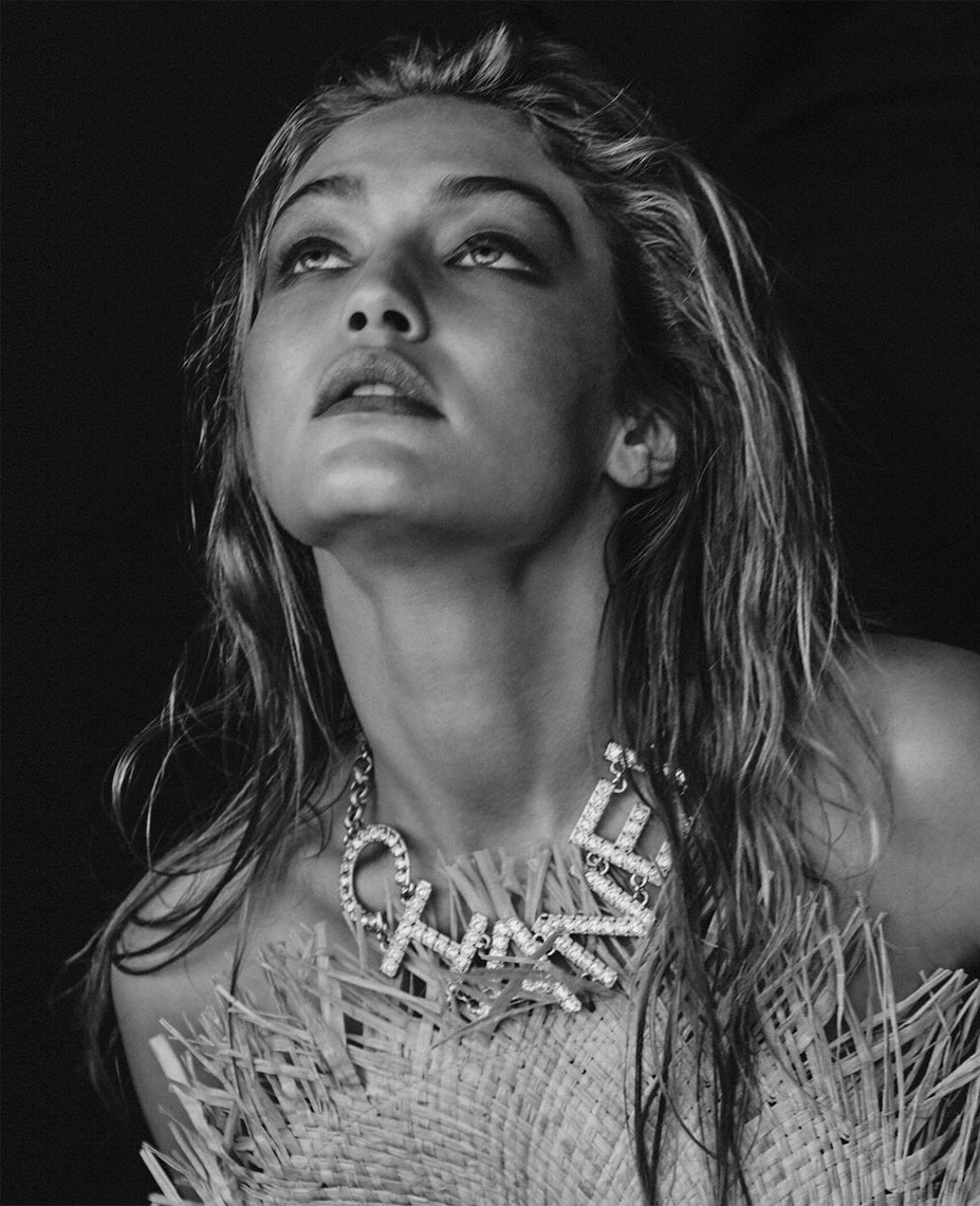 All Eyes on / Gigi Hadid by Chris Colls / US Elle march 2019