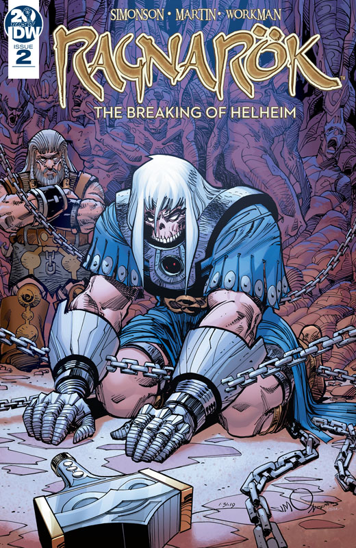 Ragnarök - The Breaking of Helheim #1-4 (2019-2020)