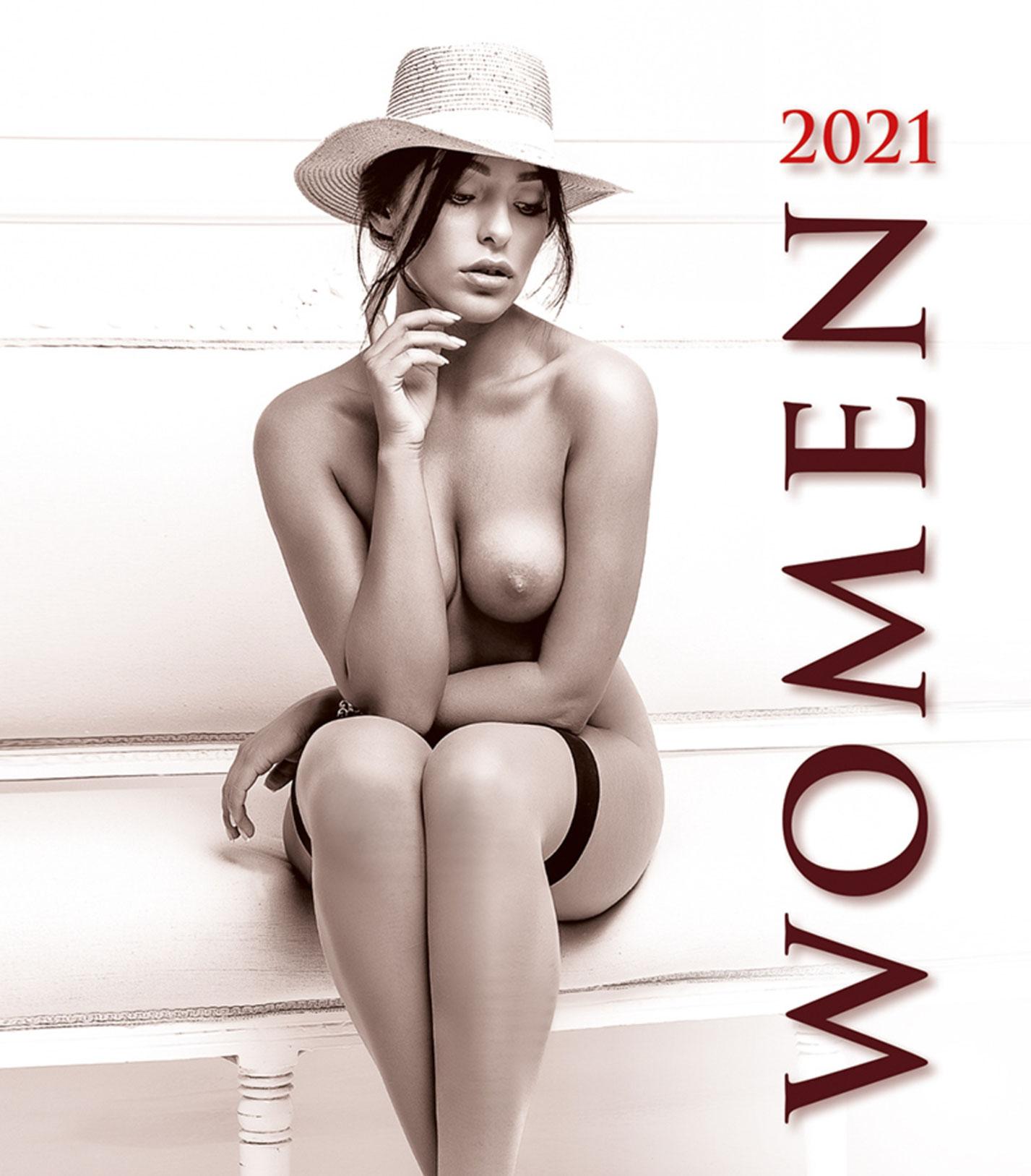 Сексуальные женщины в эротическом календаре на 2021 год / обложка