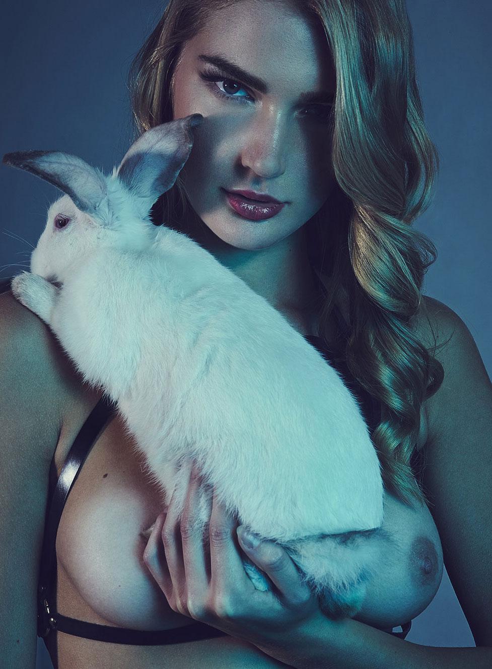 Дарья, Модеста и кролики / фото 11