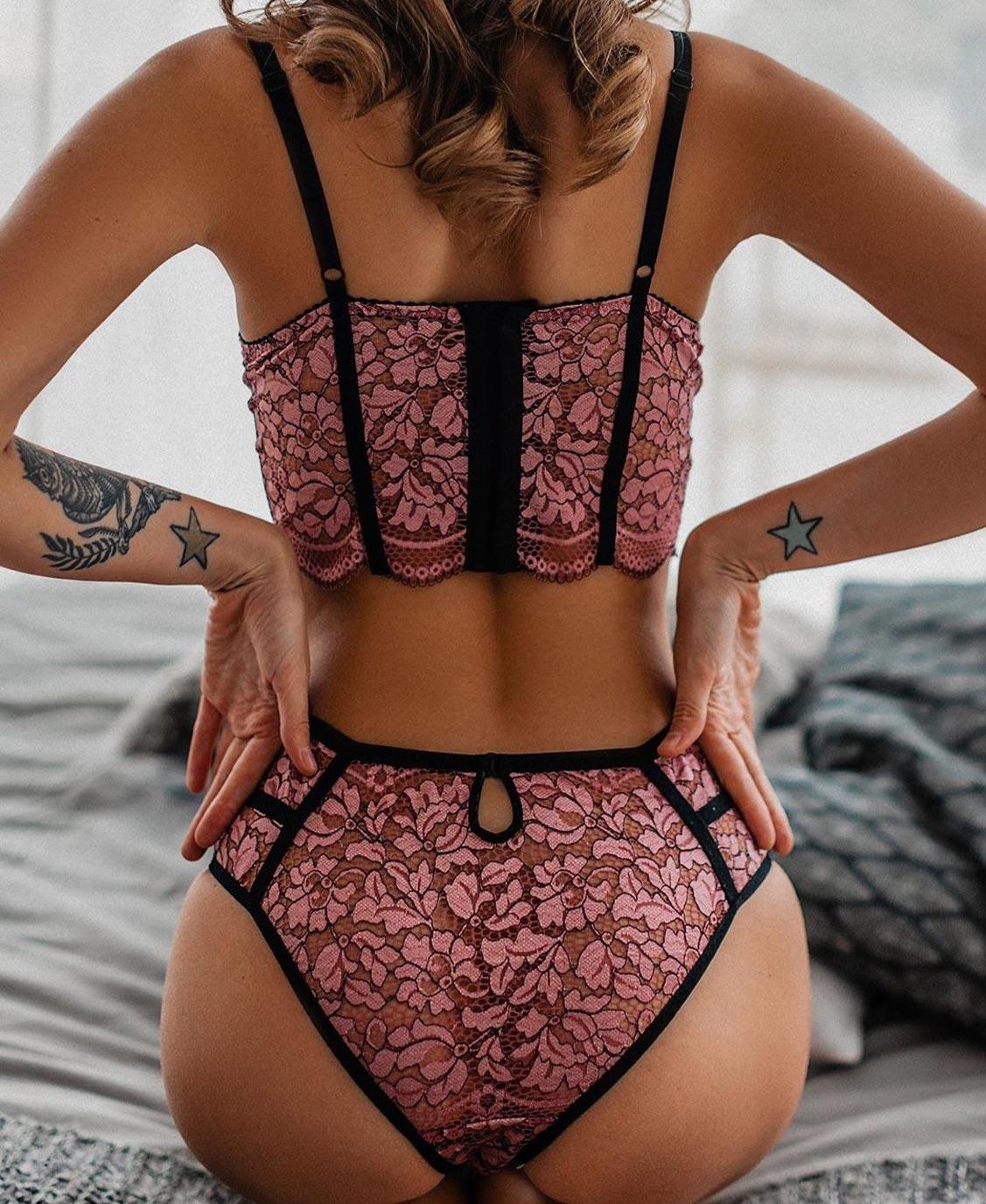 Анастасия Щеглова в нижнем белье торговой марки MissX / фото 06