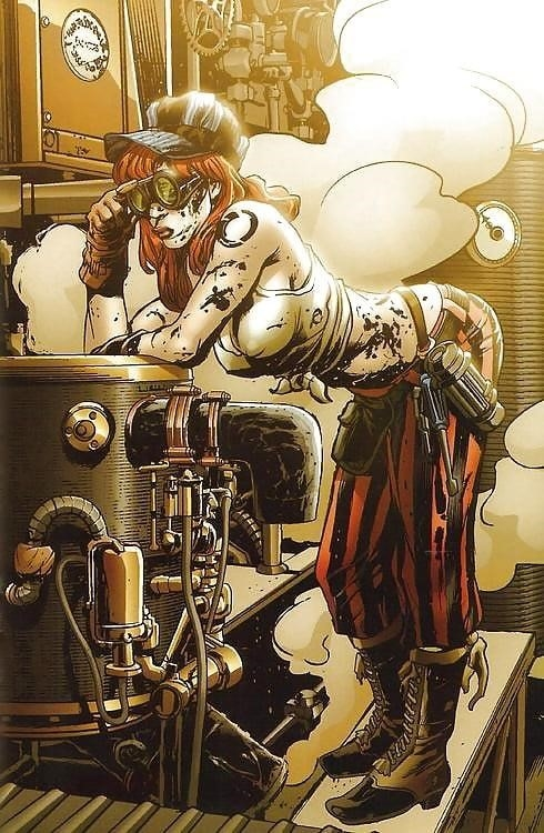 Steampunk hats female-7256