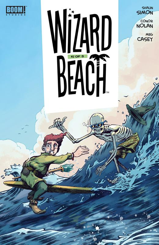 Wizard Beach #1-5 (2018-2019) Complete