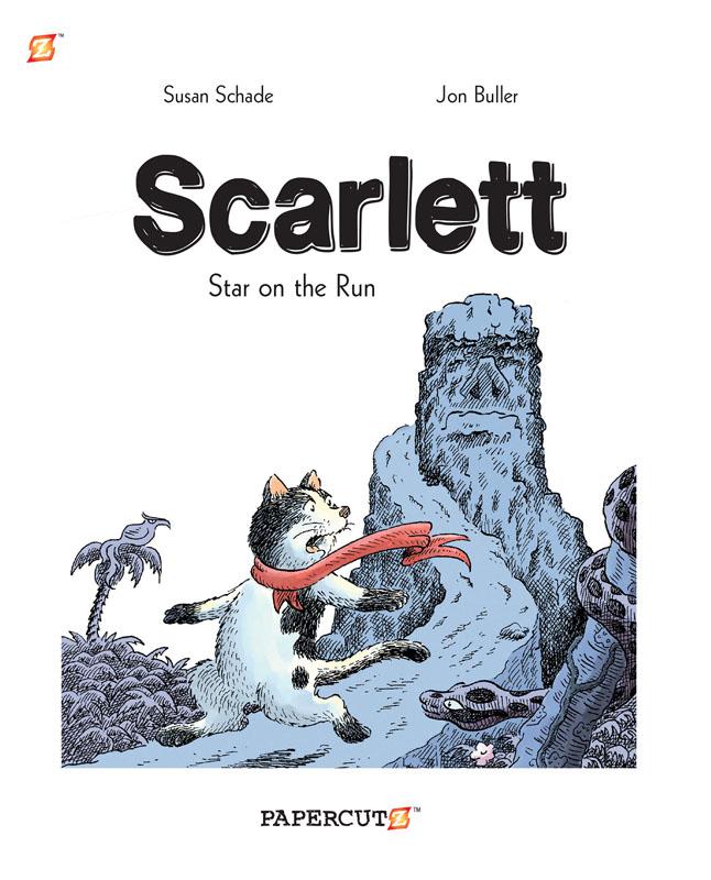 Scarlett 01 - Star on the Run (Papercutz 2015)