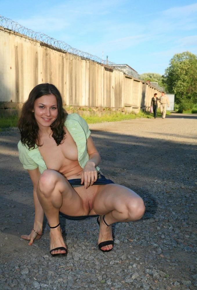 Big boobs in public pics-9899