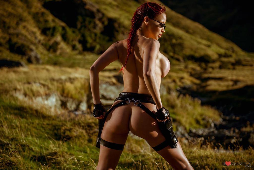 Загород гимнастки голая аннабель крофт фото