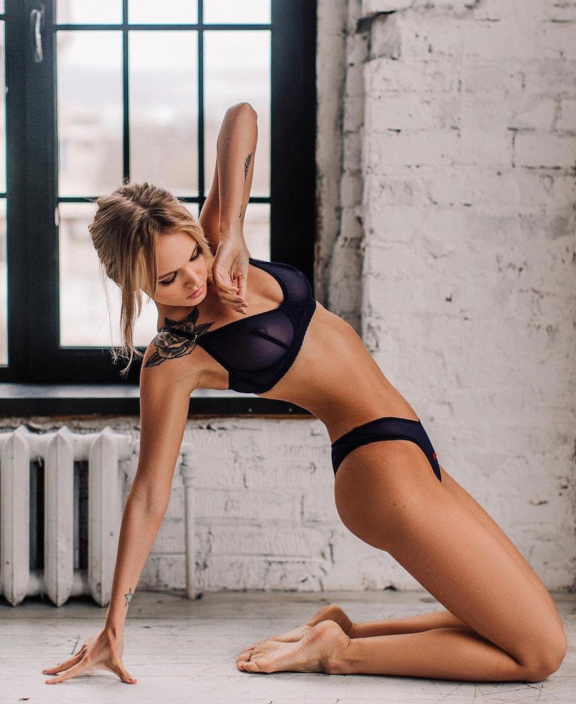 Анастасия Щеглова в нижнем белье торговой марки MissX / фото 33