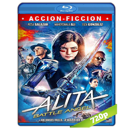 Battle Angel La Ultima Guerrera (2019) BRRip 720p Audio Trial Latino-Castellano-Ingles 5.1