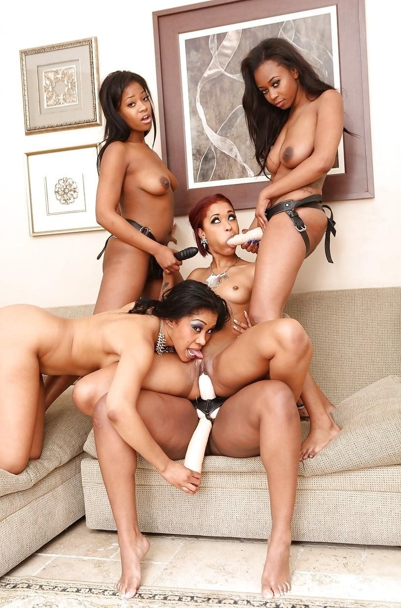 Black lesbian squirting orgy-3258
