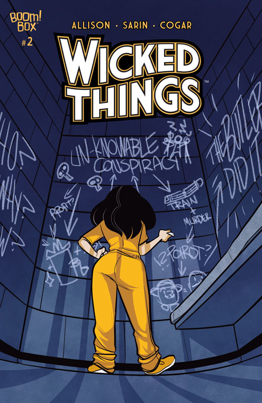 Wicked Things #1-3 (2020)