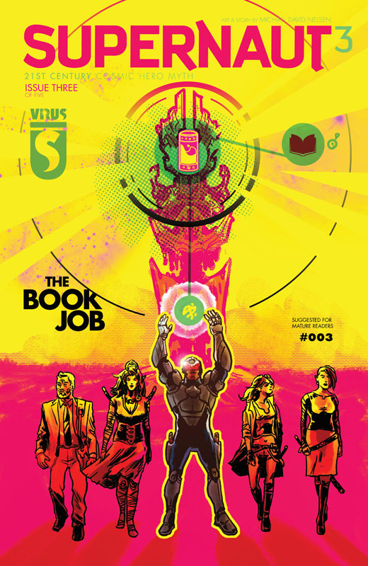 Supernaut #1-4 (2020)