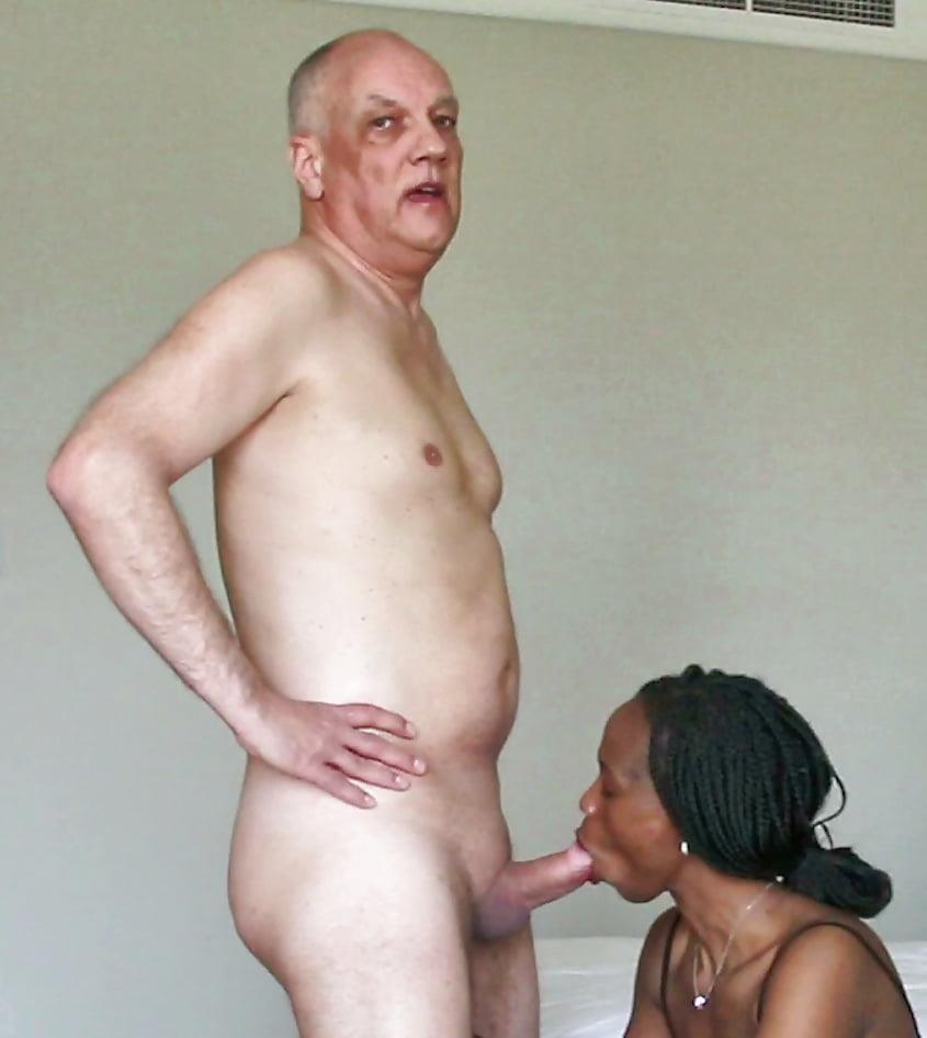 Interracial blowjob porn pics-4880