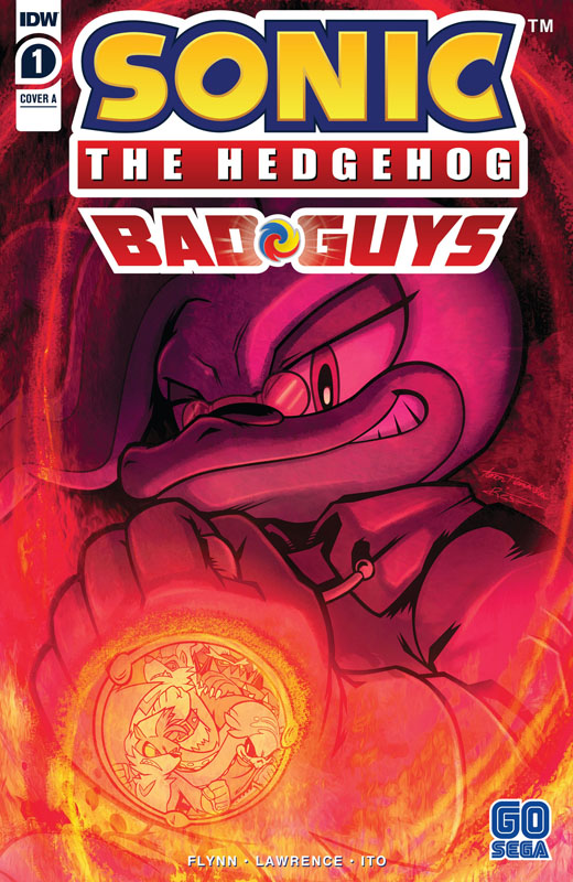 Sonic The Hedgehog - Bad Guys #1-3 (2020)