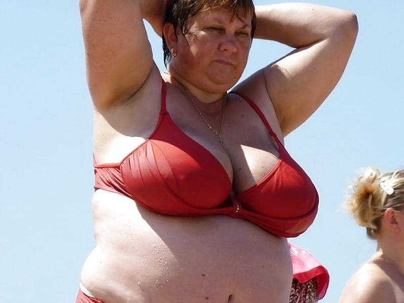 Nude big boobs on beach-8197