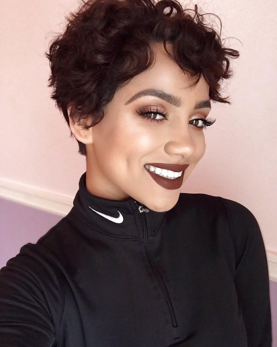 Different short hairstyles for black ladies-7030