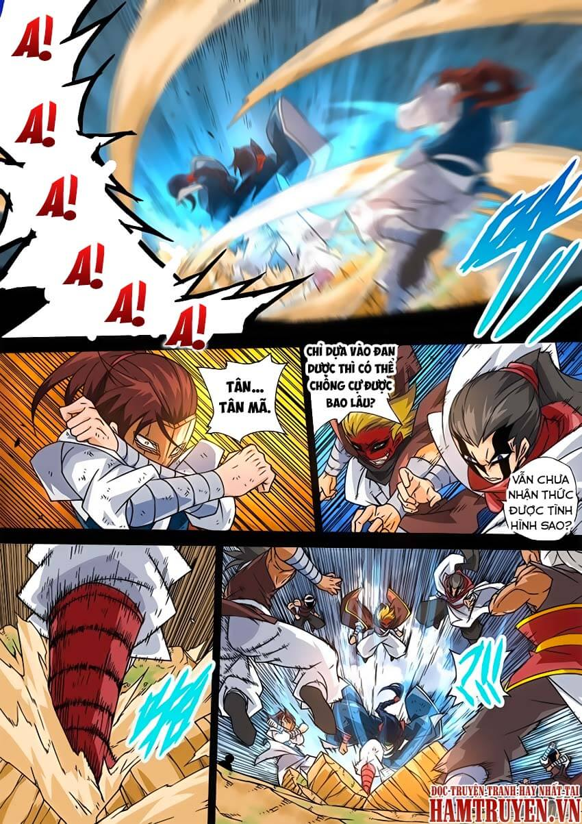 Quyền Bá Thiên Hạ Chapter 31
