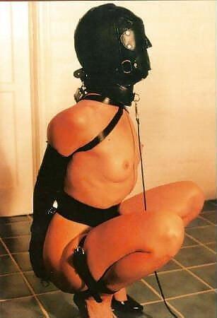 Bondage and gagged girl-2063